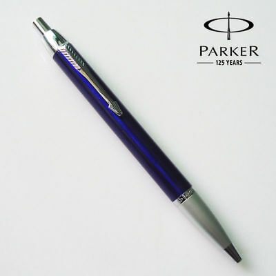 Luxurious Metal Good Parker IM Purple Silver Clip 0.5mm Fine Nib Ballpoint Pen