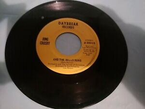 BING-CROSBY-A-TIME-TO-BE-JOLLY-AND-THE-BELLS-RANG-7-034-VINYL-45-RPM
