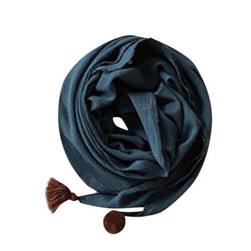 Children Accessories Adult Children Scarf Neck Scarves O-ring Soft Shawl Wraps