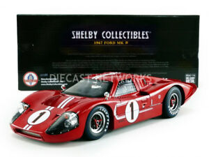 SHELBY-COLLECTIBLES-1-18-FORD-GT-40-MK-IV-WINNER-LE-MANS-1967-SHELBY423