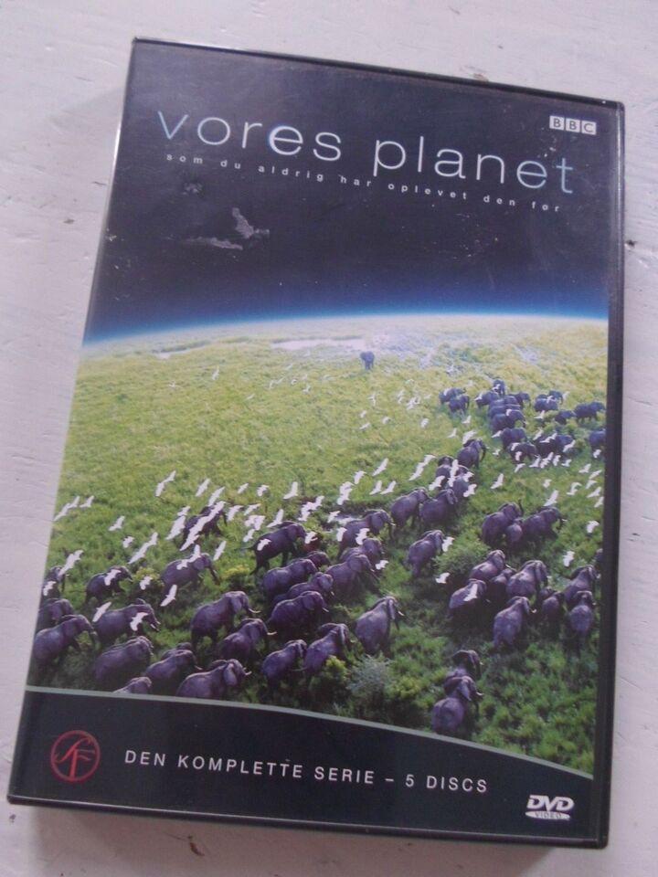 vores planet - hele serien !, instruktør BBC, DVD