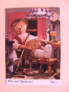 Postkarte-AK-Mecki-Nr-466-Hals-und-Beinbruch