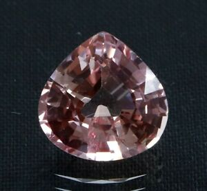 5.85 Ct Natural Padparadscha Sapphire Ceylon Pear Cut Certified Loose Gemstone