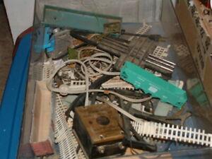 Pre-Owned-Vintage-Scale-Train-Pieces-amp-Parts-Lot