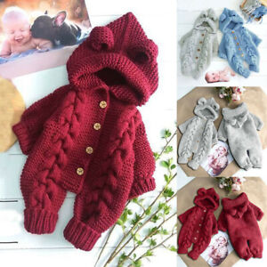 Newborn-Infant-Baby-Girl-Boy-Winter-Thick-Warm-Coat-Knit-Outwear-Hooded-Jumpsuit