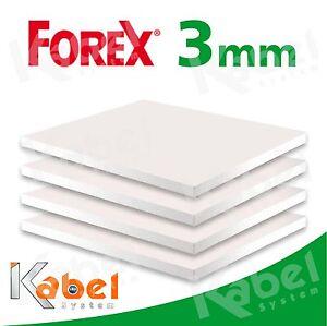 Forex 3 mm caratteristiche