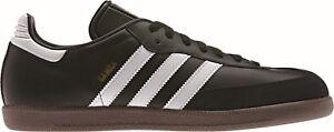 Adidas-Performance-Hommes-Chaussures-De-Loisirs-Sneaker-Halles-Chaussures-Samba-Noir