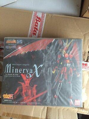 Attivo Gx-09mab Bandai Soul Of Chogokin Minerva X Mazinger Angels La Sirene De Noir Sangue Nutriente E Regolazione Dello Spirito