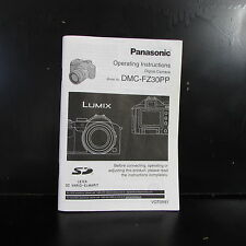 Panasonic lumix fz72 full printed owners instruction manual.