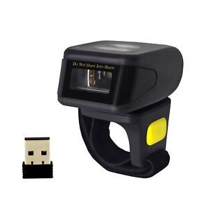 Details about Symcode 1D Wireless Bluetooth Ring Barcode Scanner Reader fr  Mac OS Android+iOS