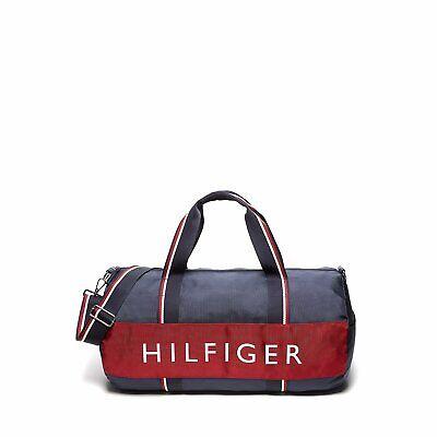 Tommy Hilfiger Large Duffle Bag Travel Bag GYM Bag New Original Plastic