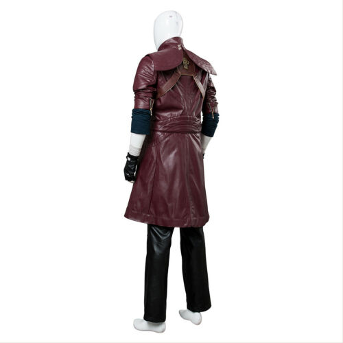 Devil May Cry V DMC5 Dante Aged Outfit Cosplay Costume Coat Uniform Suit Shirt