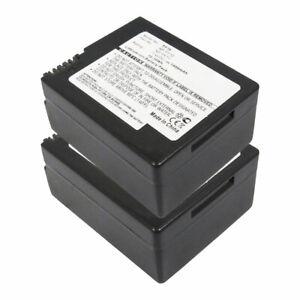 2x Batterie pour Sony NP-FF51 NP-FF70 NP-FF50 NP-FF71 1400mAh