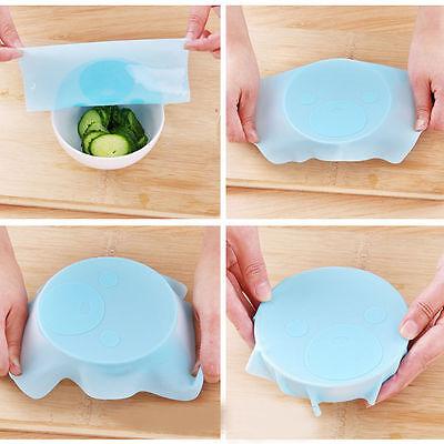 1Pc Magic Seal Vacuum Food Wrap Multifunctional Food Fresh Keeping Plastic Wrap