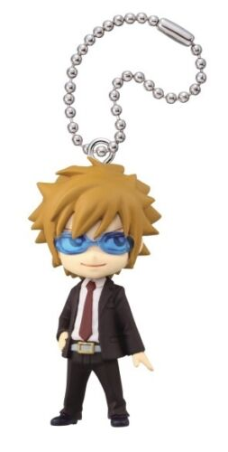 Takara Fairy Tail Part 5 Key chain Keychain mini Deformed Figurine Loke