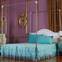 Stainless Steel Bed Mosquito Netting Frame Post For Twin Full Queen King Size
