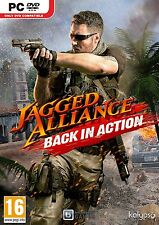 Computer pc dvd gioco Jagged Alliance: BACK in Action NUOVO