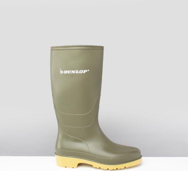 Childrens DUNLOP Wellies Boys Girls Waterproof Wellington Boots Kids Welly Boot