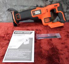 Black & Decker BDCR20B 20V MAX Reciprocating Saw New (Bare Tool Only) #1437