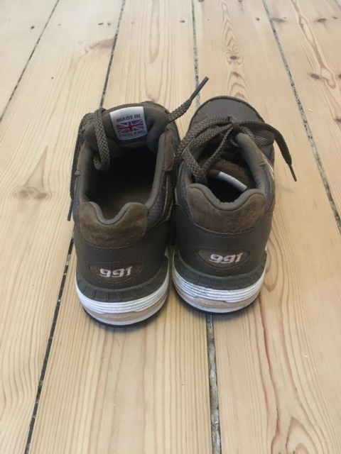 Sneakers, str. 36,5, New Balance,  Mørk grøn,  God men…