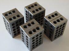 4 Sets Of 2 1 2 3 Machinist Blocking Matched Set 8 Total 123 Block
