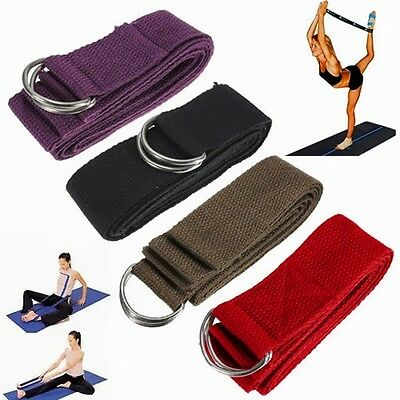 Yoga Stretch Strap Block Brick Foaming Foam Home Exercise Fitness Gym Sport Tool