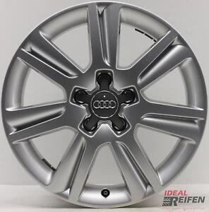 4-original-Audi-A4-8k-B8-Avant-17-Pulgadas-Llantas-SLINE-8k0601025n-7x17-ET46