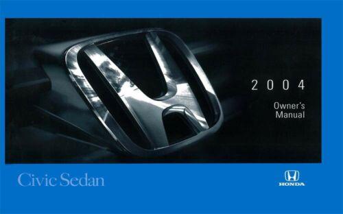 Car Manuals & Literature Vehicle Parts & Accessories 2004 Honda ...
