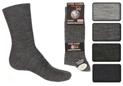 12 Paar Herren Socken ohne Gummi und ohne Naht 70/%Wolle Top Qualität Art 374