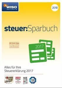 WISO steuer:Sparbuch 2018 (für Steuerjahr 2017, offizieller Key, Download, PC