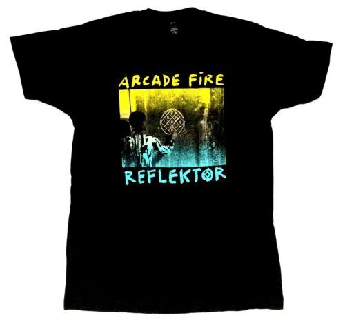 Arcade Fire Reflektor Noir T Shirt New Official Band Merch Soft