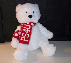 Details About Ps4u Aeropostale 14 Penn State White Bear Plush Stuffed Animal