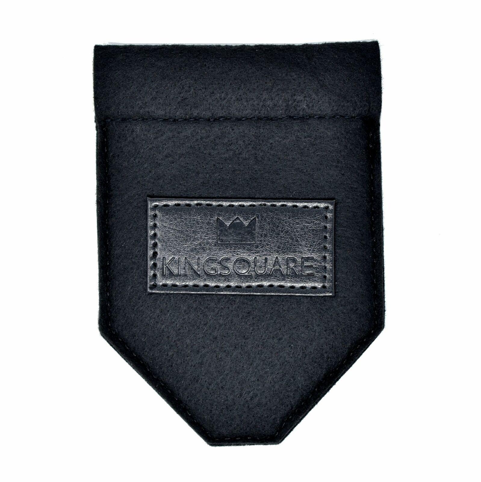 Kingsquare Exclusive Pocket Square Holder- Men's Suit/Blazer/Coat Pocket Square