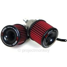APEXi Power Intake Dual Funnel Air Filter Kit Fits: Mazda 93-95 RX-7 RX7 FD3S