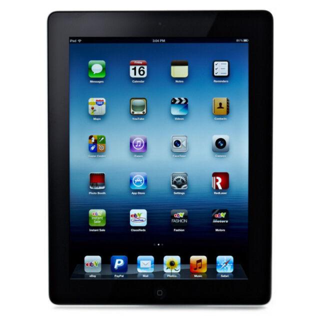 Apple iPad 3rd Gen. 64GB, Wi-Fi, 9.7in - Black (CA)