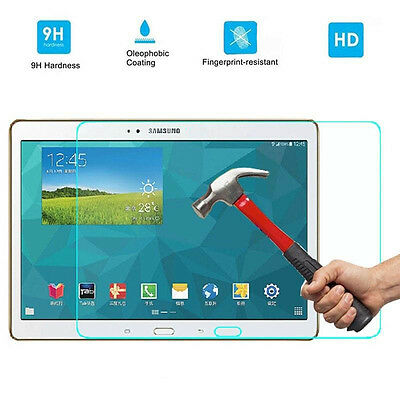 "Real Tempered Glass Screen Protector For Samsung Galaxy Tab S 10.5"" SM-T800 T805"