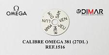 OMEGA 381 (27 DL) REF.1516