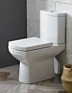 Marvelous Details About Square High Level Comfort Raised Height Wc Pan Cistern Toilet Seat 1014 Theyellowbook Wood Chair Design Ideas Theyellowbookinfo