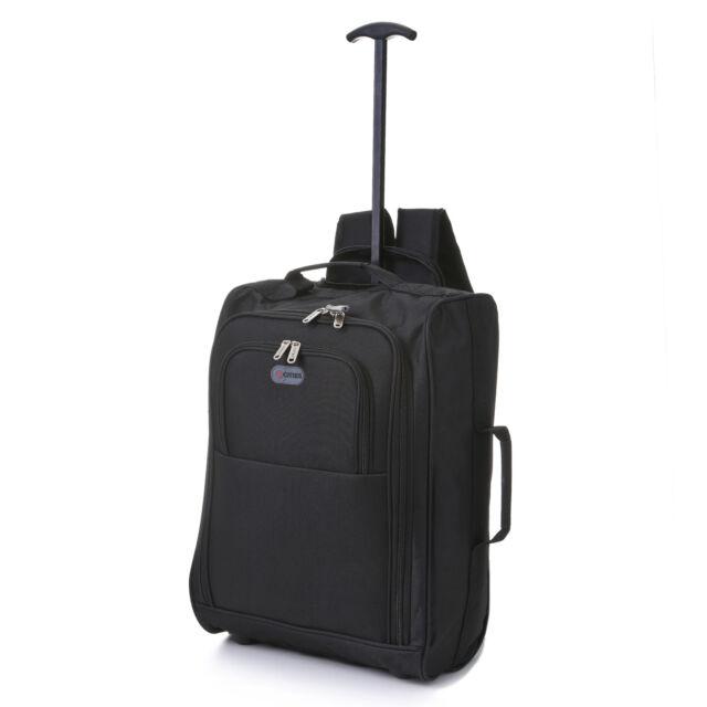 8441392d319e Hand Luggage Bag Backpack Trolley 2 Wheeled Cabin Bag Baggage Cool ...