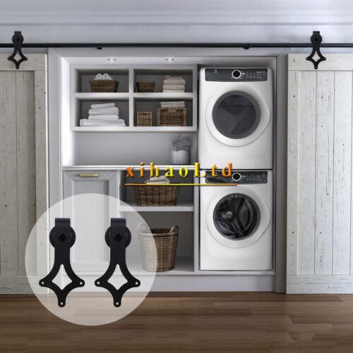 2.5-20FT Interior Antique Sliding Barn Door Hardware Track Kit For Single/&Double