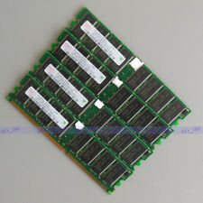 Hynix 4GO 4x1GO PC3200 DDR400 400MHz DIMM Desktop mémoire RAM Low density 4G