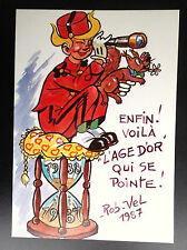 Carte postale Spirou L'age d'or   ETAT NEUF