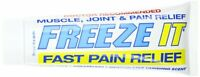 2 Pack Freeze It Pain Relief Gel 4 Oz on sale