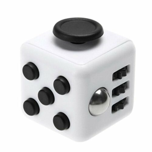 New Fun Fidget 6 Sided Cube Adult Anxiety Stress Relief Cube Toys Gift Cubes UK
