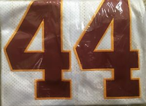 new style b3786 03adf Details about John Riggins White #44 Redskins Spear Throwback Jersey Size  56 NEW With Tags