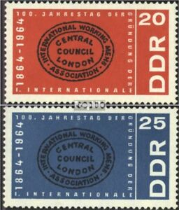 DDR-1054-1055-edition-complete-oblitere-1964-1-International