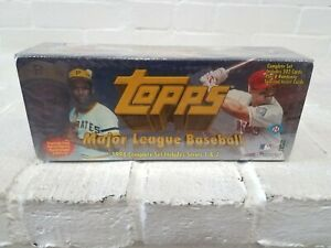 1998 Topps Baseball Factory Sealed Complete Set 502 cards Series 1&2 MLB