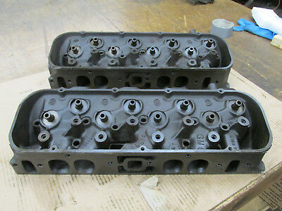 1968 Big Block Chevy BBC 396 427 Oval Port Heads 3917215 215 C-12-8 C-18-8  | eBay