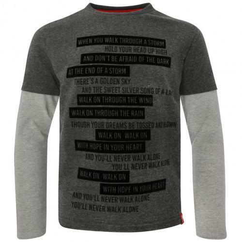 Layered YNWA T Shirt Junior Official Merchandise Liverpool F.C