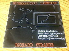 "RICHARD STRANGE - INTERNATIONAL LANGUAGE   7"" VINYL PS"